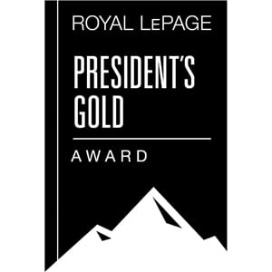 Royal LePage Presidents Gold Award